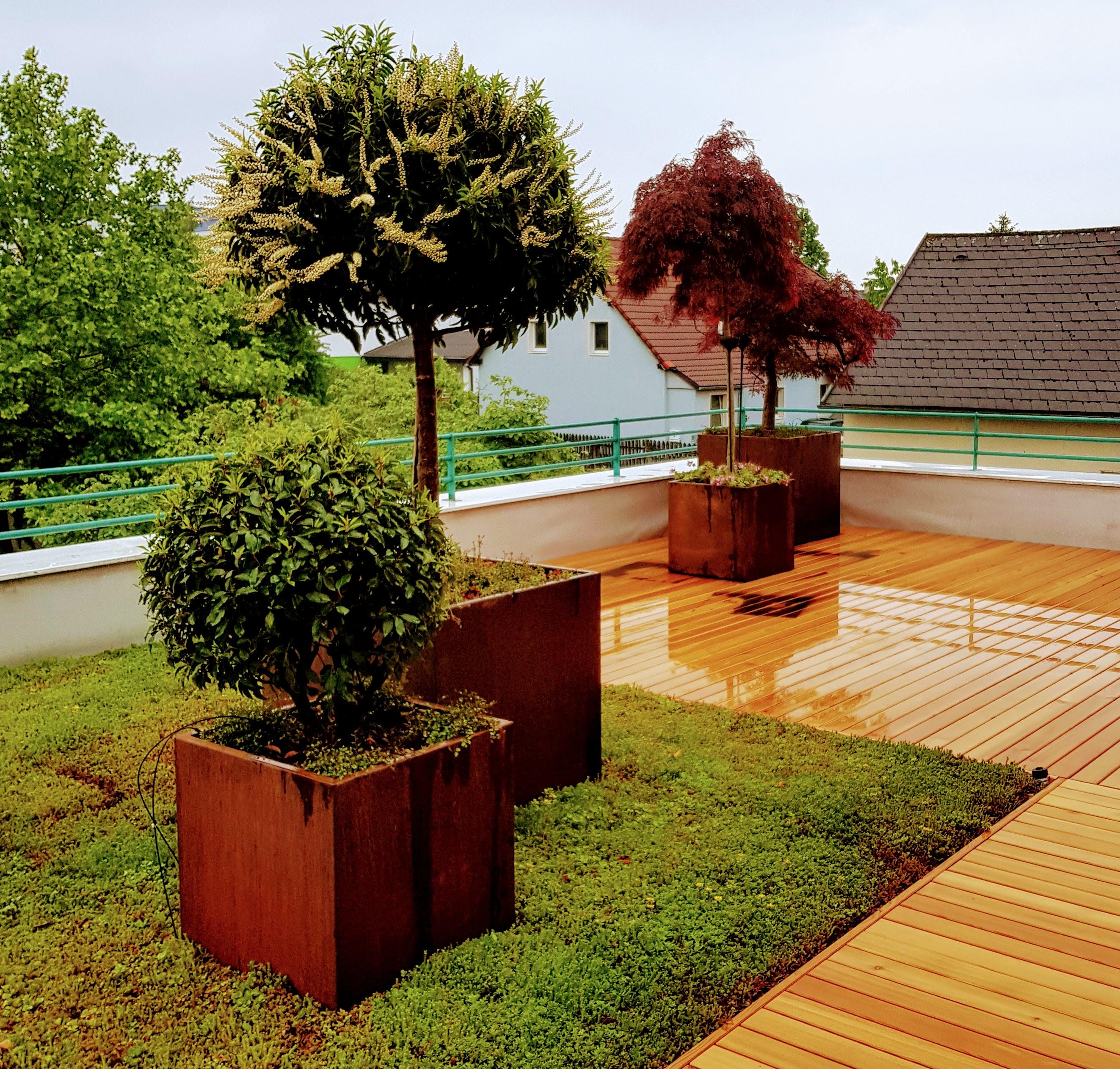 Terrassen und Gärten