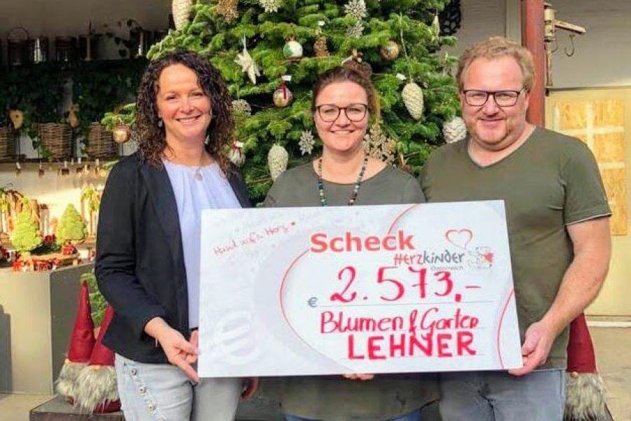 Spende für Herzkinder Österreich gesammelt!